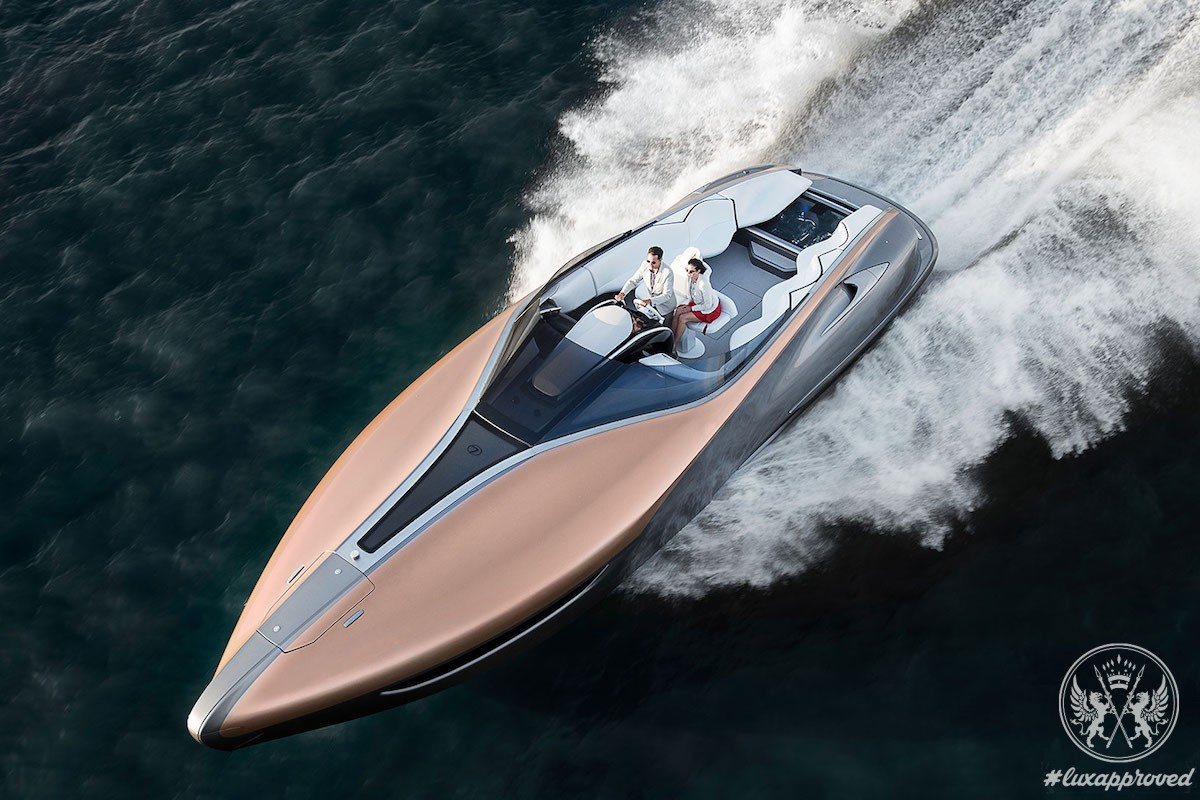 Lexus Sport Yacht Concept Is Unveiled in Miami