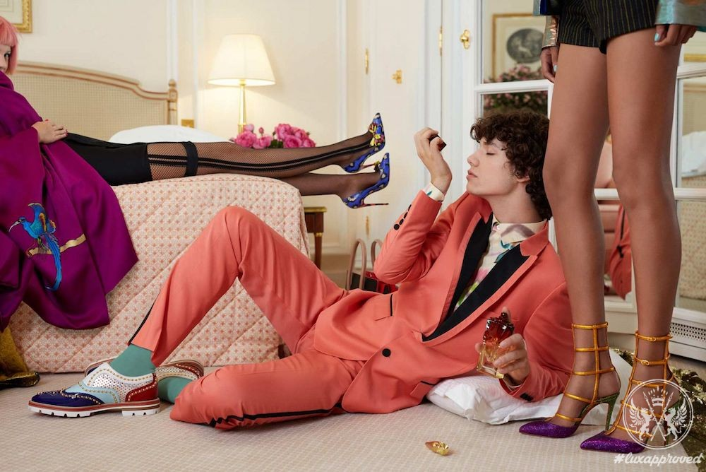 The Party Crasher: Christian Louboutin Spring-Summer 2017 Lookbook