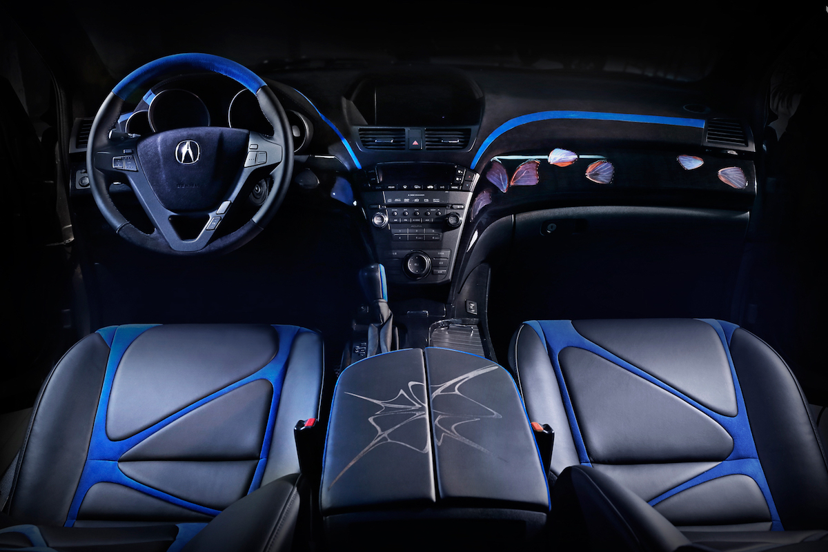 Morph by Vilner: Acura MDX Gets Butterfly Wings & the Night Sky Ceiling