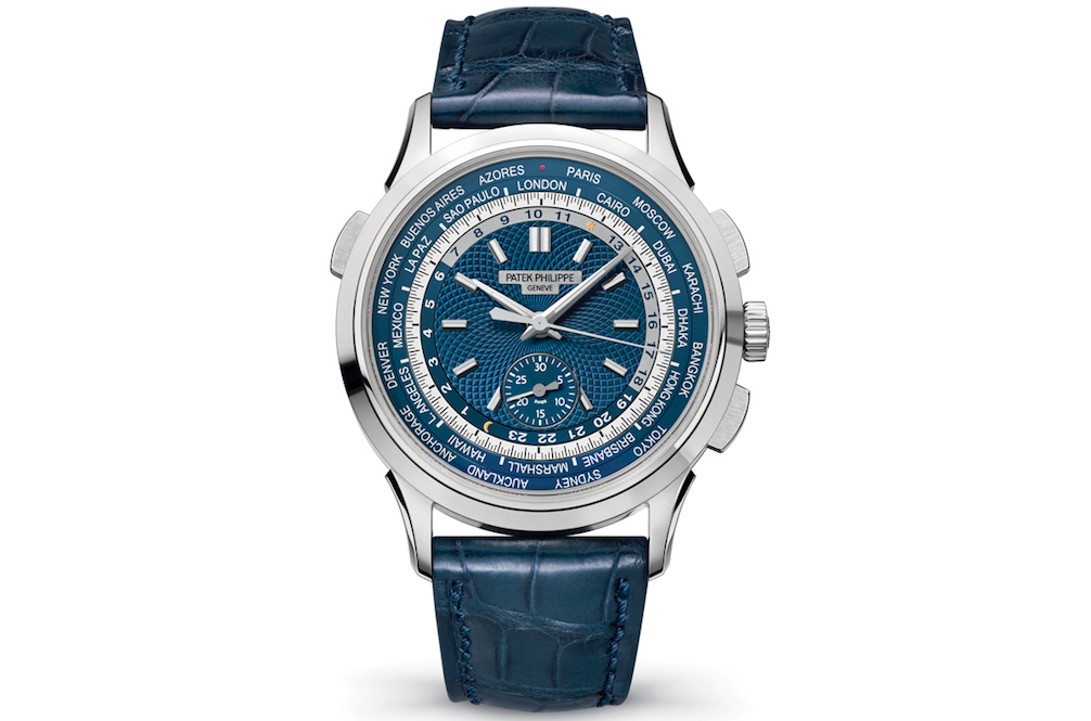 Patek Philippe World Time Chronograph Ref. 5930G Is the Travel Watch of Your Dream
