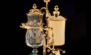 An Objet D'Art Royal Coffee Maker Is Actually an Ingenious Coffee Brewer
