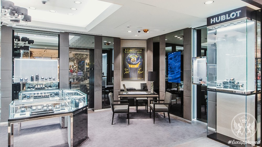 Hublot Boutique Moscow Metropol Opens