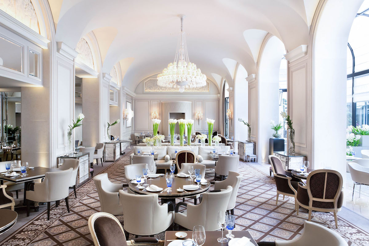Four Seasons Hotel George V, Paris Is the First Hotel in Europe to Feature Three Michelin-starred Restaurants