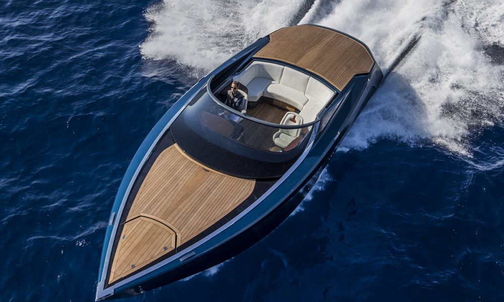 Aston Martin AM37 Powerboat Makes U.S. Debut at Yachts Miami Beach