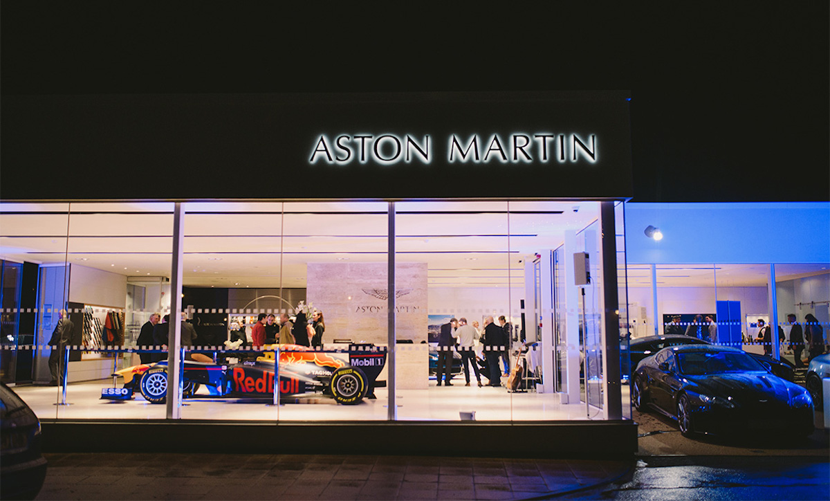 Aston Martin Wilmslow Invites Guests to Renovated Showroom