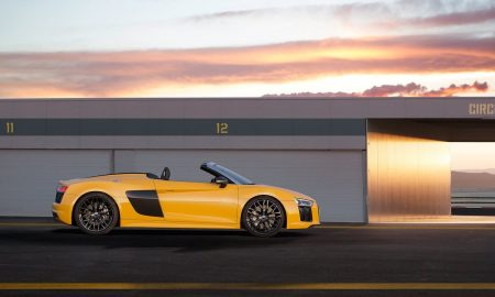 The Open-Top Performance Sports Car Audi R8 Spyder Is Revealed
