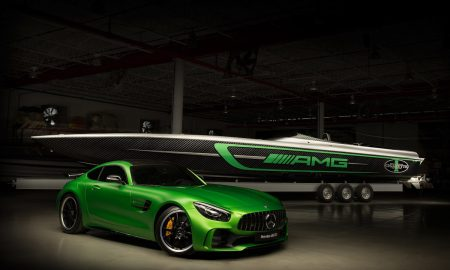 Cigarette Racing Introduces the 50' Marauder Inspired by the Mercedes-AMG GT R