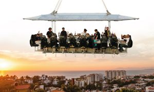 Dinner in the Sky at Casa Velas in Puerto Vallarta