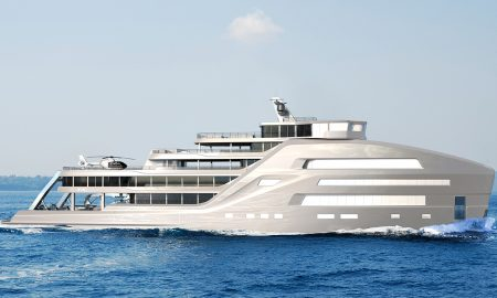 Gill Schmid Design Unveiled Concept Design for a 295-foot Yacht Taboo