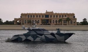 FSD Ferretti Security and Defence Takes Its New FSD195 Vessel to IDEX-NAVDEX in Abu Dhabi