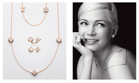 Michelle Williams Fronts Louis Vuitton Blossom Collection of Jewelry