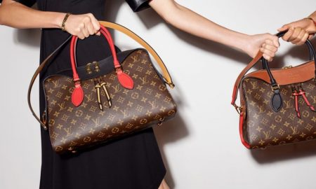 Louis Vuitton Tuleries Bag Accentuates Heritage Monogram Canvas