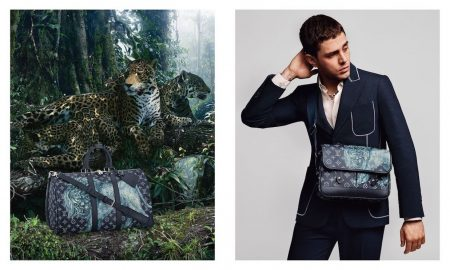 Africa-Inspired Louis Vuitton Spring-Summer 2017 Men's Campaign