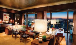 Piaget Rose Stay Accommodation at Mandarin Oriental, Tokyo