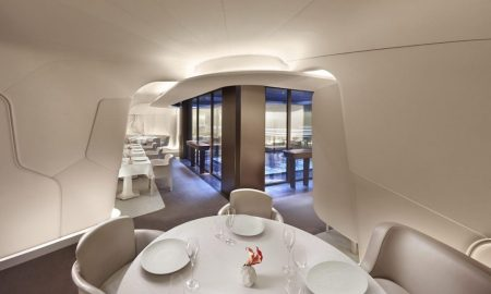 Sur Mesure par Thierry Marx Restaurant Offers First Ever Space-Age Dining Experience