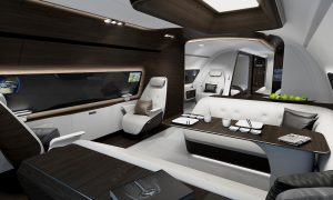 Mercedes-Benz Style VIP Cabin Will Be Unveiled at Monaco Yacht Show in September 2017