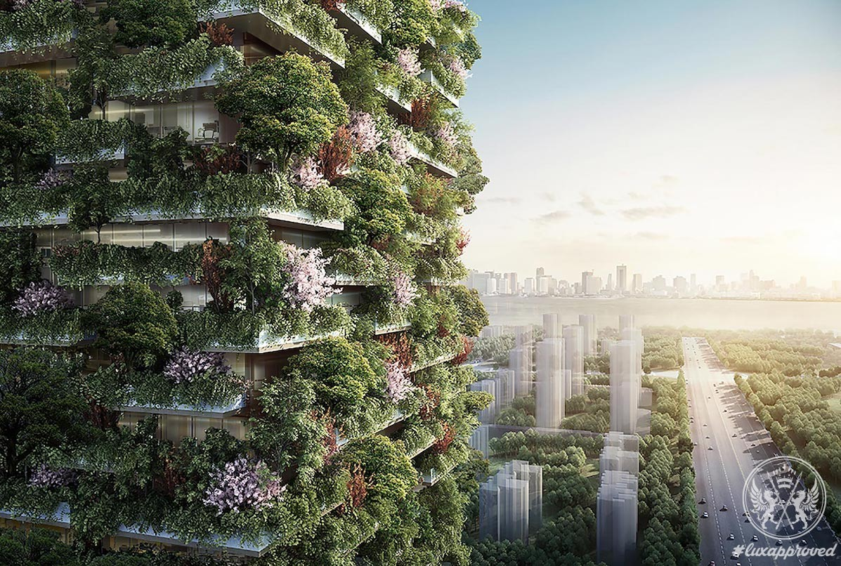 Nanjing Vertical Forest by Stefano Boeri Architects