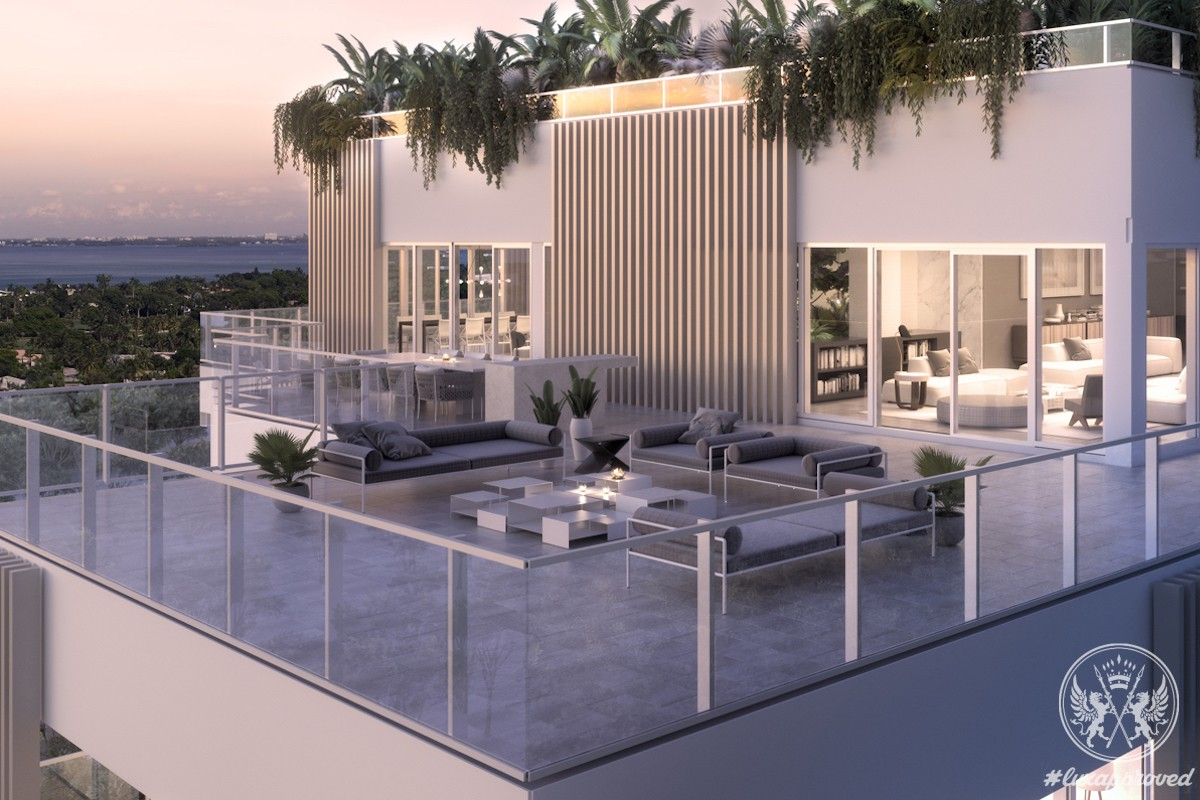 The Rooftop Penthouse Suite at The Ritz-Carlton Residences, Miami Beach Is Available for $40 Million