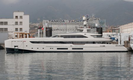 The 164-Foot Tankoa Vertige Superyacht Is Launched