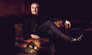 """Robert De Niro for Ermenegildo Zegna """"Defining Moments"""" Campaign"""