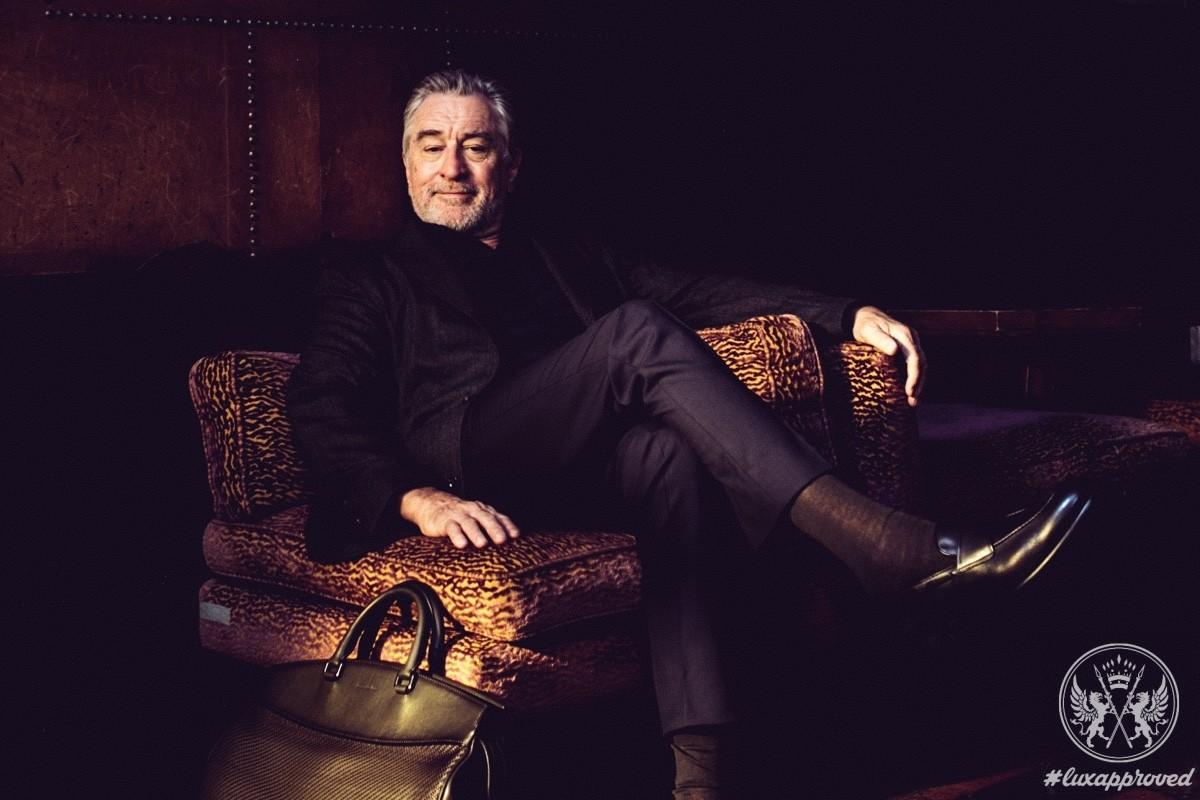 "Robert De Niro for Ermenegildo Zegna ""Defining Moments"" Campaign"