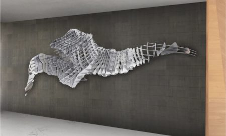 "Daniela Wicki Designs Massive Sculpture ""Ad Infinium"" for Brickell City Centre's REACH Tower"