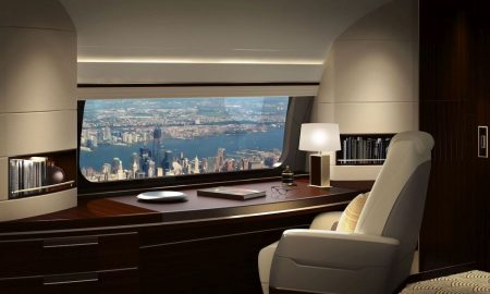 Boeing Business Jets, GKN Aerospace Introduce Skyview Panoramic Window
