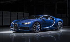 Bleu Royal Bugatti Chiron to Be Showcased at the Geneva International Motor Show