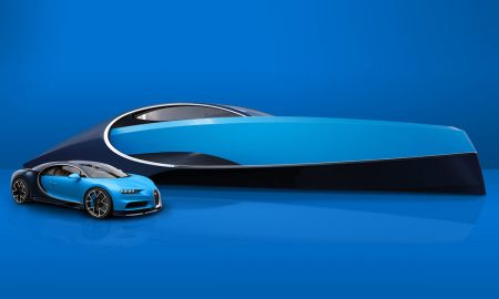 Bugatti Niniette 66 Sport Yacht Is Inspired by Bugatti Chiron
