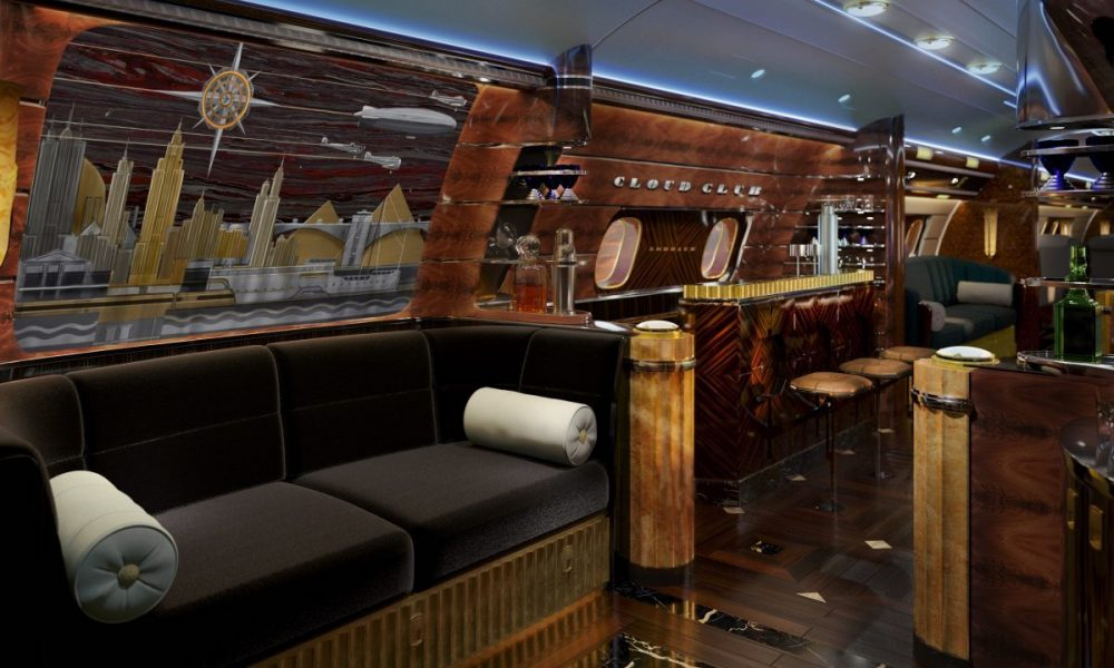 Embraer's Lineage 1000e Manhattan Airship Designed by Eddie Sotto