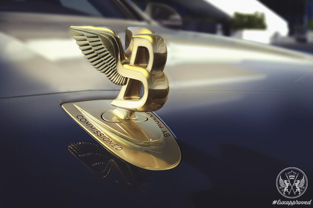 Bentley Mulsanne Hallmark Series by Mulliner Are Inspired by Precious Metals