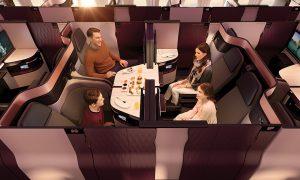 Qatar Airways Unveiled Business Class QSuite
