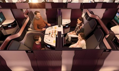 Qatar Airways Unveiled Business Class QSuite