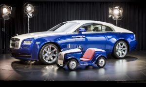 Rolls-Royce Creates a Mini Rolls-Royce SRH for a Noble Purpose