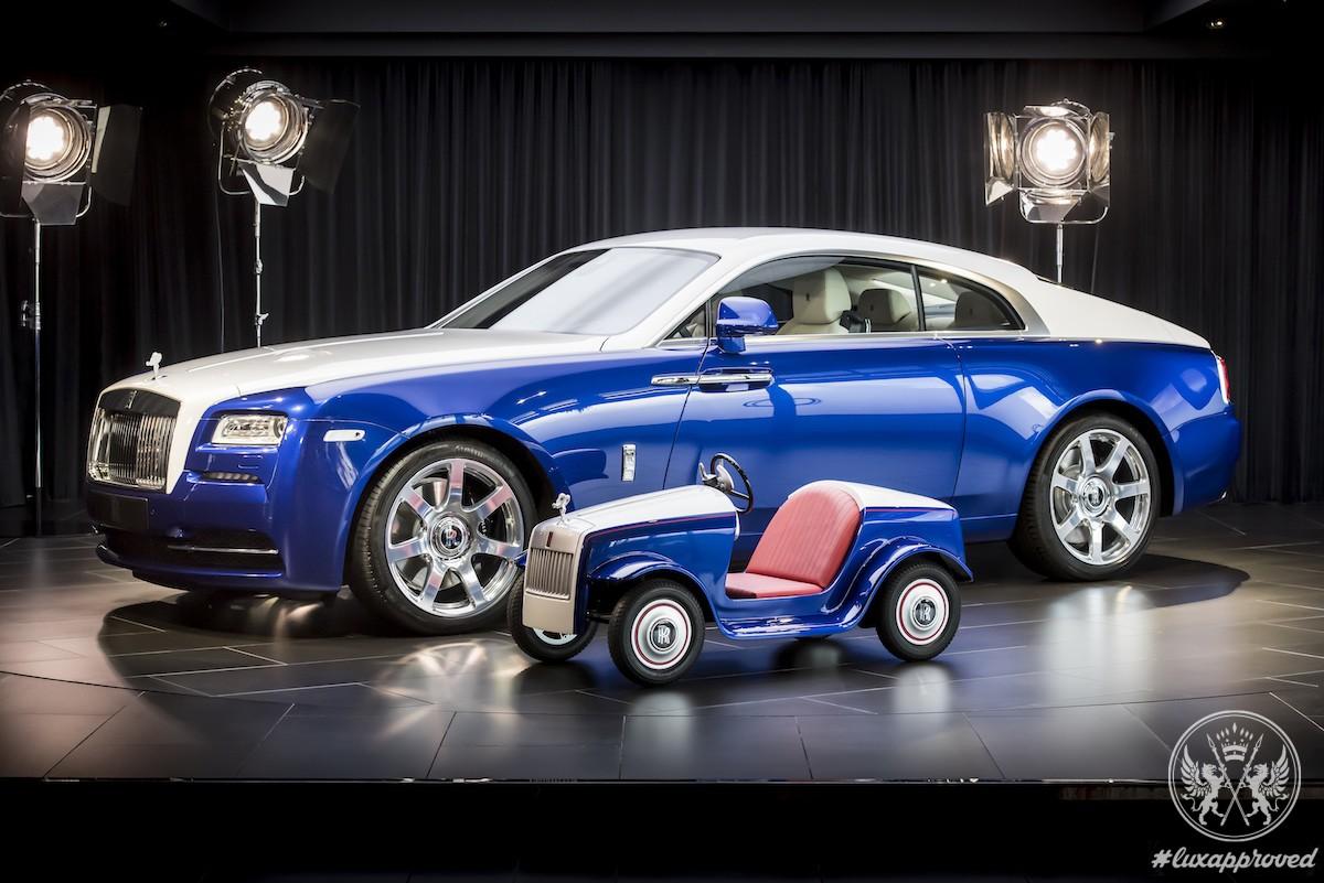 Rolls-Royce Creates a Mini Rolls-Royce SRH for a Noble Purpose