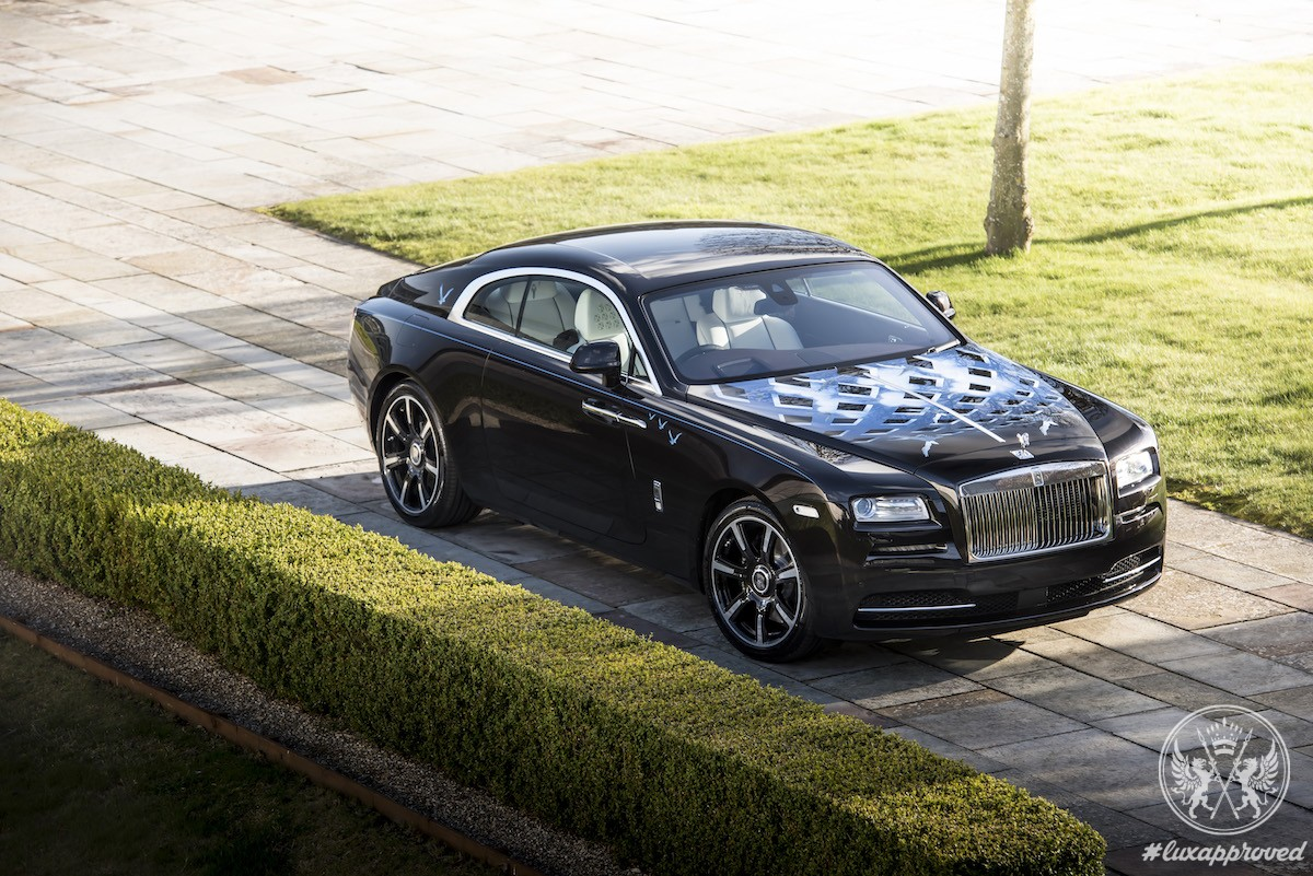 """Rolls-Royce Unveiled Four Bespoke Wraith """"Inspired by British Music"""" Motor Cars"""