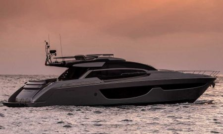 "Riva 76' Perseo Awarded the ""Biggest Imported Yacht of 2016"" in Japan"