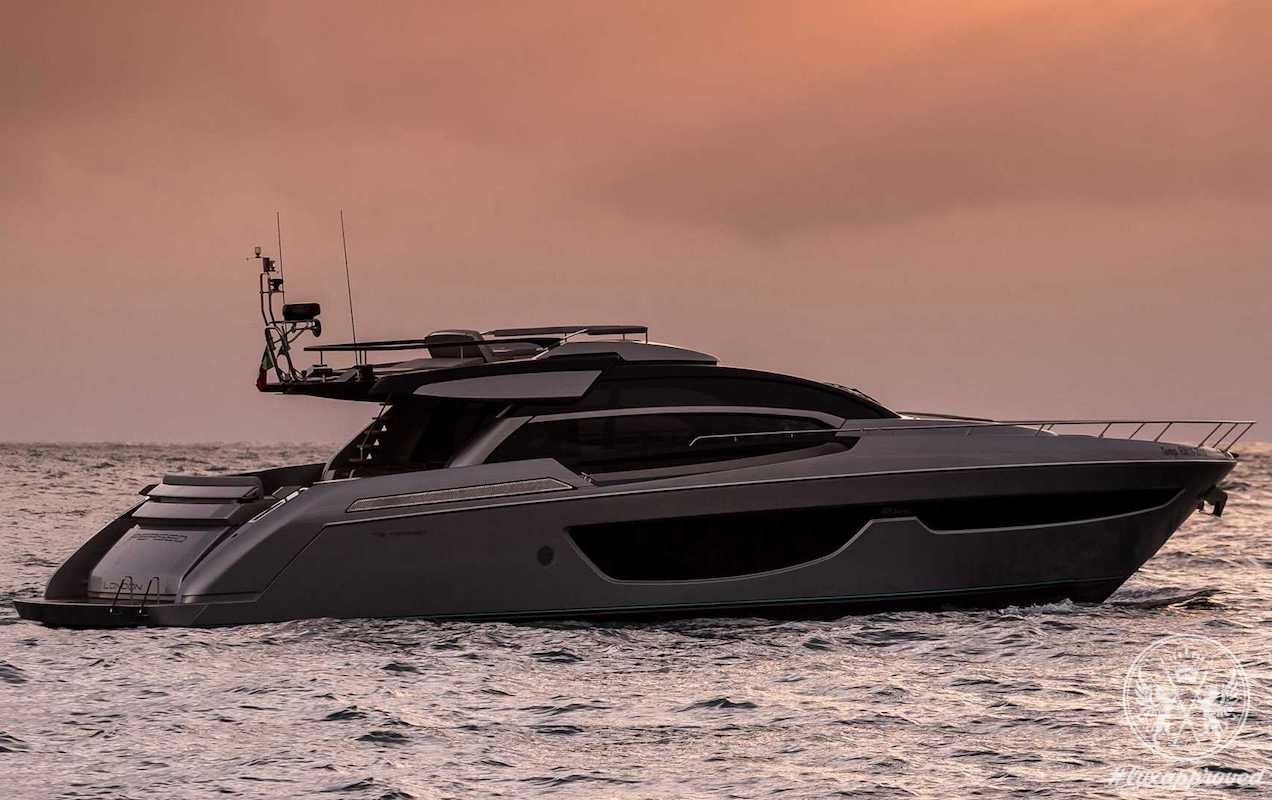 """Riva 76' Perseo Awarded the """"Biggest Imported Yacht of 2016"""" in Japan"""