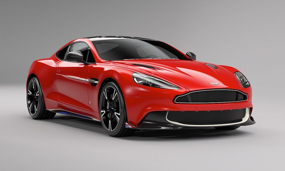 Q by Aston Martin Vanquish S Red Arrows Edition: Only 10 Examples to Be Created