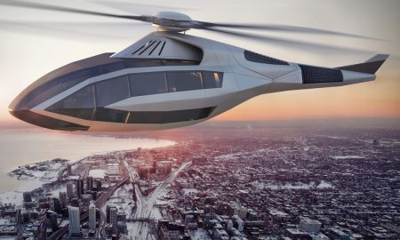 Bell Helicopter Unveiled the Futuristic FCX-001 Concept Aircraft