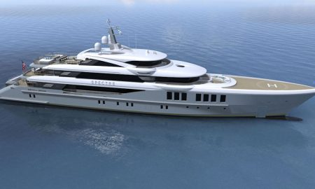Benetti FB269 Megayacht Spectre Undergoes Final Outfitting