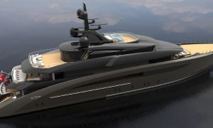 CRN Unveils the 62-metre Yacht Concept