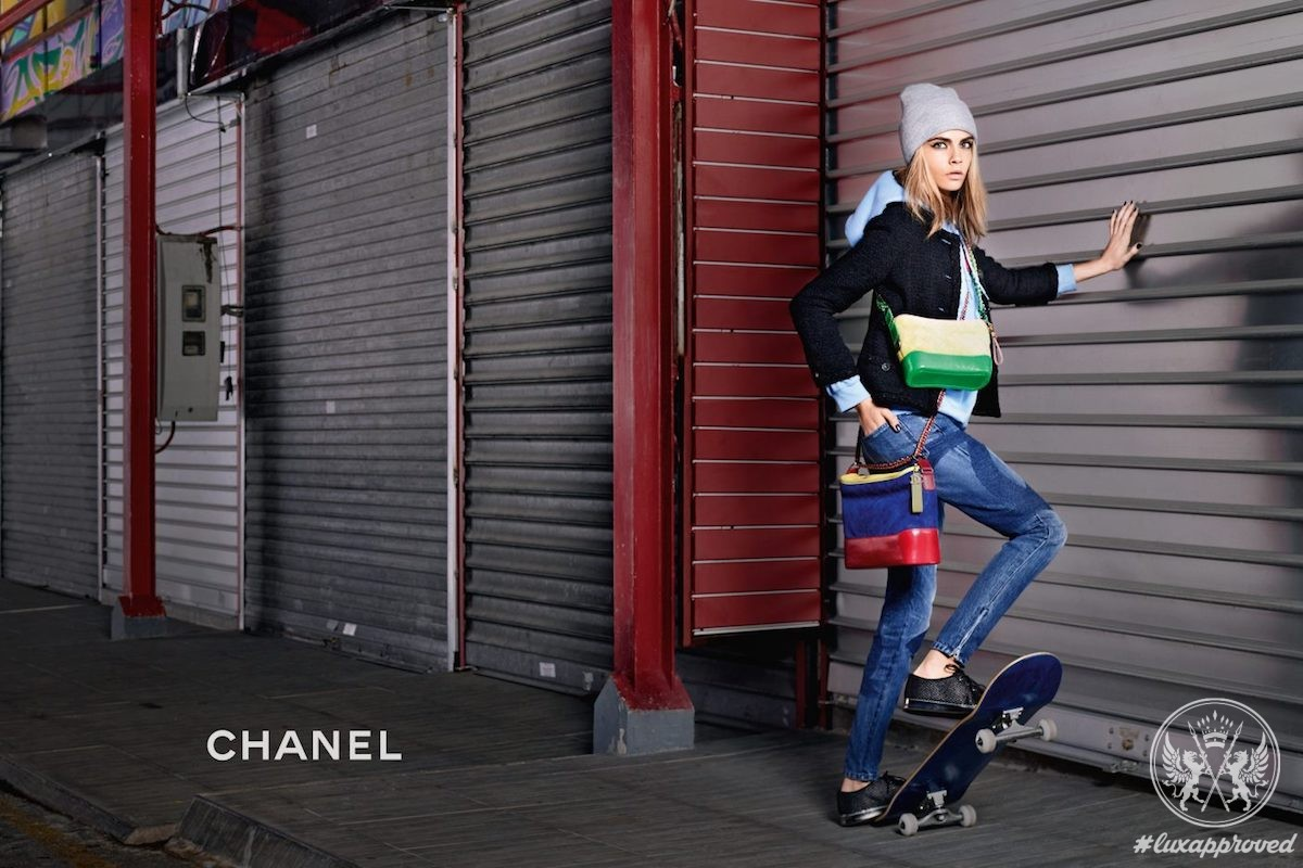 Chanel's Gabrielle Bag Campaign Starring Cara Delevingne