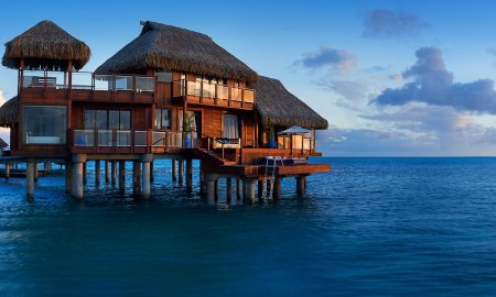 Conrad Bora Bora Nui Boasts the Island's Only Double-Story Overwater Suites