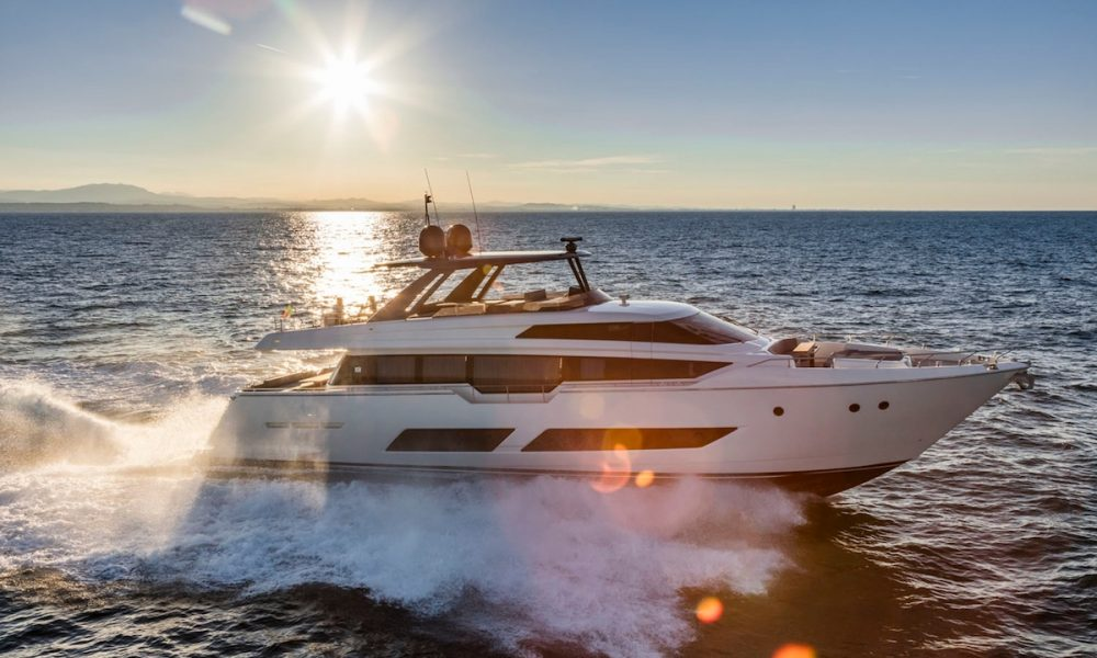Ferretti Yachts 850 Conquers Asia