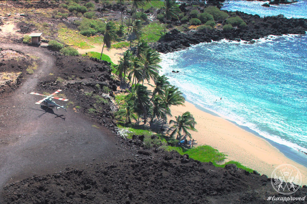 Ultimate Pop-Up Volcano Adventure at Four Seasons Resort Hualalai