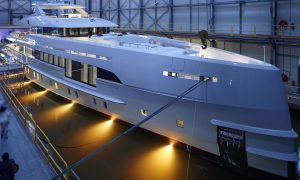 Heesen Yachts' M/Y Home Is the World's First Fast Displacement with Hybrid Propulsion