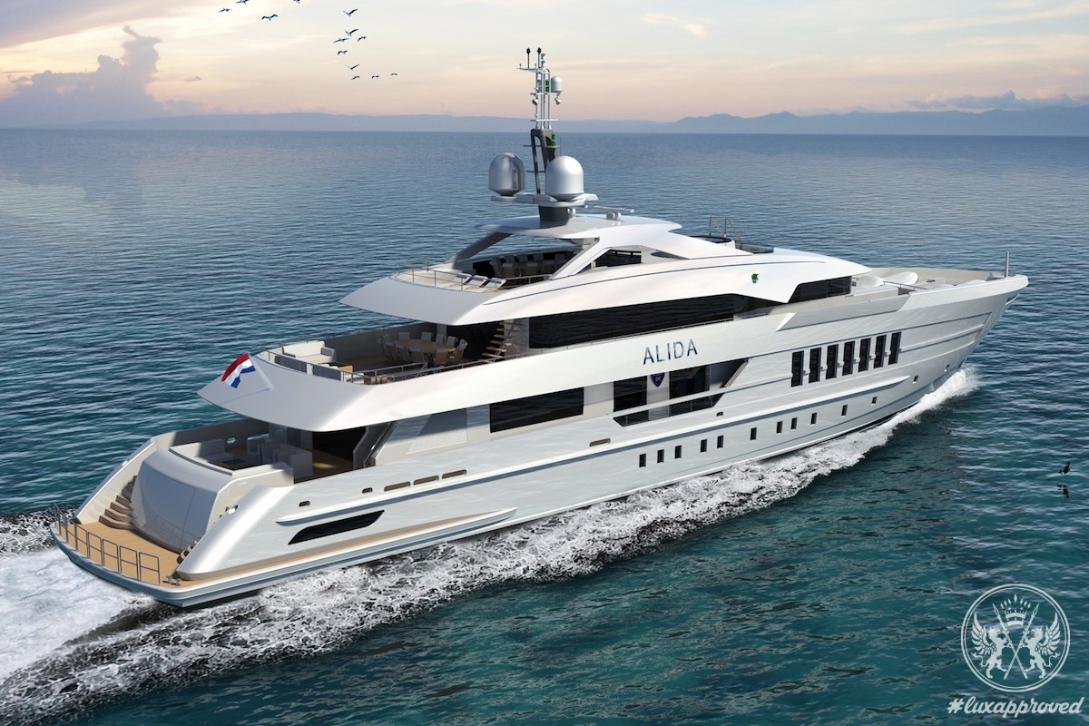 Heesen Yachts Announces the Sale of a 180 feet Project Alida