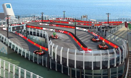 A First at Sea Ferrari-Branded Racetrack on Board Norwegian Joy