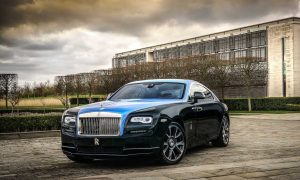 Rolls Royce Premiers the Bespoke Wraith Created by Emirati Artist Mohammed Kazem